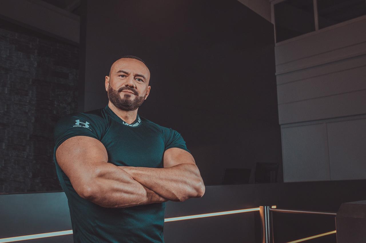 Jakob Jascha Fitness Portrait
